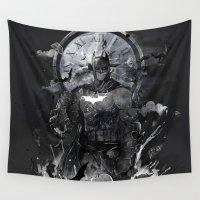 gotham Wall Tapestries featuring Rebirth by choppre