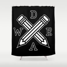 Draw Shower Curtain