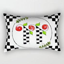 TT monogram Rectangular Pillow
