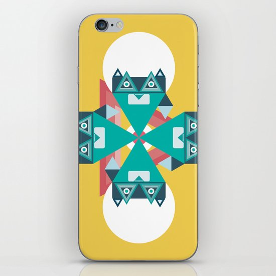 Biconic repetition iPhone & iPod Skin