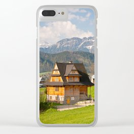 village in Tatra Country Clear iPhone Case