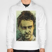actor Hoodies featuring Schizo - Edward Norton by Fresh Doodle - JP Valderrama