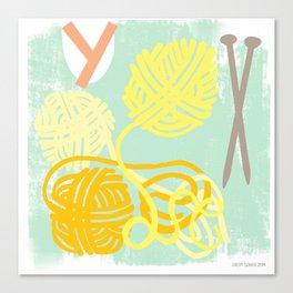 """""""Y"""" Canvas Print"""