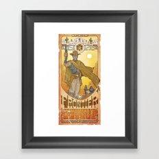 Frontier Legacy Framed Art Print