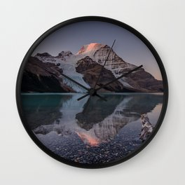Mt. Robson Wall Clock