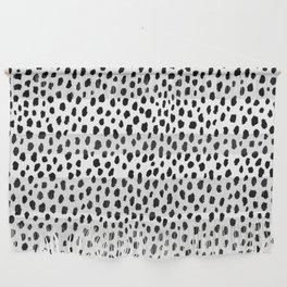Dalmatian Spots (black/white) Wall Hanging
