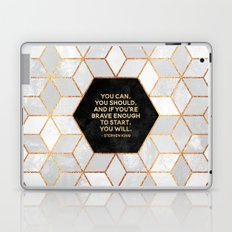If you're brave enough / Design Milk Collab. Laptop & iPad Skin