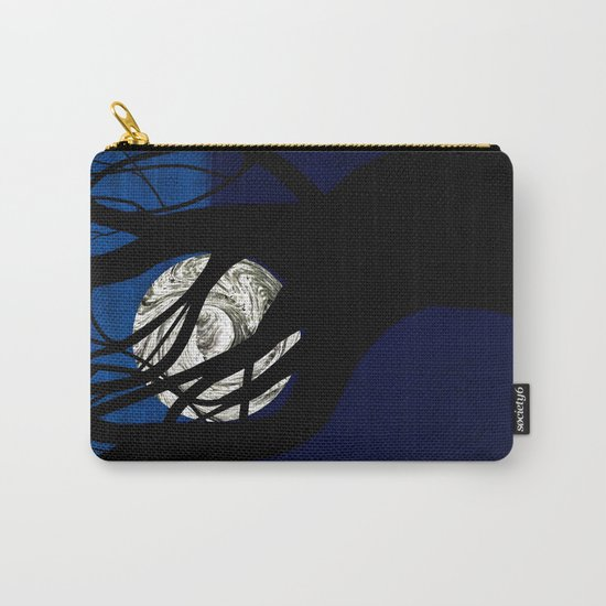 Moon Visits Tree Carry-All Pouch