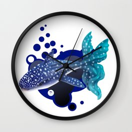 Winsome Whalie Wall Clock
