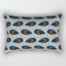 Cute mussels Rectangular Pillow
