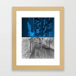 Venice positive ... Venice negative Framed Art Print