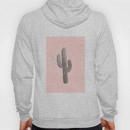 Feeling Prickly - Cactus Print in Peach Hoody