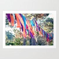Flags of the Sisterhood Art Print