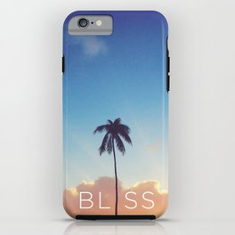 Palm Tree Bliss iPhone Case