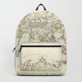 Vintage Map of The World (1816) Backpack