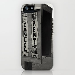 Cancel Rent series -III-  iPhone Case