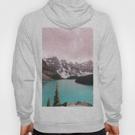 Moraine Lake Banff National Park Hoody