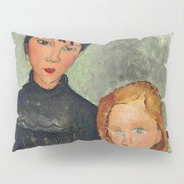 "Amedeo Modigliani ""Les deux filles"" Pillow Sham"