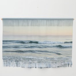 Serenity sea. Vintage. Square format Wall Hanging