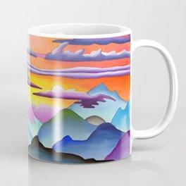 Colorful Coast Sunset Coffee Mug