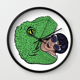 Dinosourprise Wall Clock