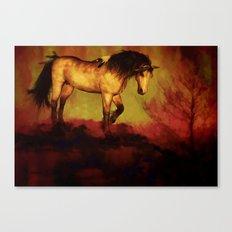 HORSE - Choctaw ridge Canvas Print