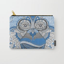 Monkey Head Illustration Carry-All Pouch