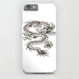 Chinese dragon Illustration iPhone Case