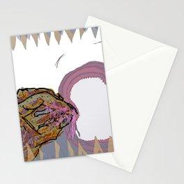 mucus feegind gif Stationery Cards