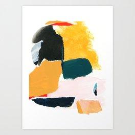 collage studies 18-02 Art Print