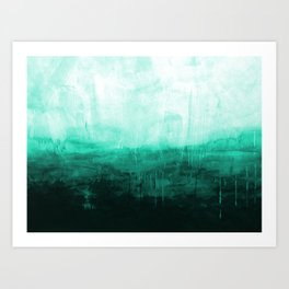 Paint 8 abstract minimal modern water ocean wave painting must have canvas affordable fine art Art Print