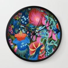 The Garden Wall Clock