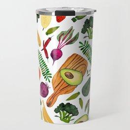 eat clean Travel Mug