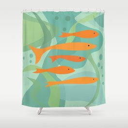 Seek and hide Shower Curtain