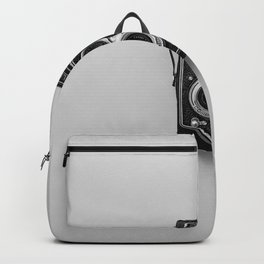 Old Camera (Black and White) Backpack