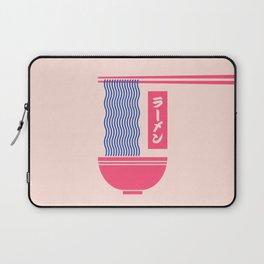 Ramen Japanese Food Noodle Bowl Chopsticks - Salmon Laptop Sleeve
