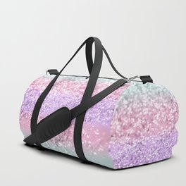 Unicorn Girls Glitter #8 #shiny #pastel #decor #art #society6 Duffle Bag