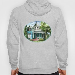 The House with Red Trim Hoody