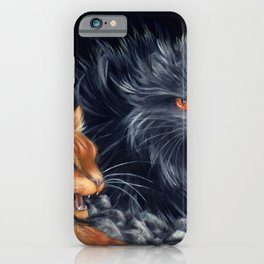 Yellowfang and Firepaw iPhone Case