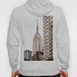 Empire State Building in New York Hoody