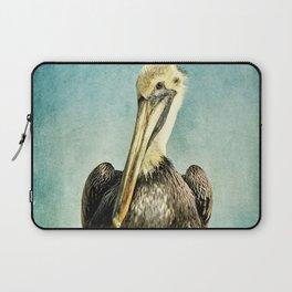 Brown Pelican Art Laptop Sleeve