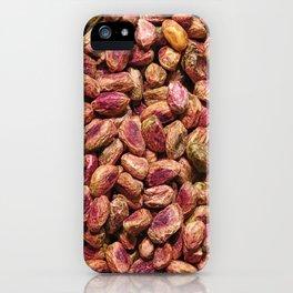 pistachio texture iPhone Case