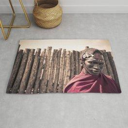 Maasai Warrior Ngorongoro 4117 Rug