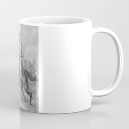Colonel Theodore Roosevelt On Horseback Coffee Mug