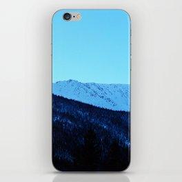 White Peaks iPhone Skin