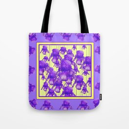 I LOVE PURPLE IRIS Tote Bag