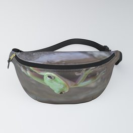 Little green visitor Fanny Pack