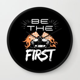 Be The First Wall Clock