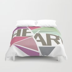 BROKEN HEART  Duvet Cover