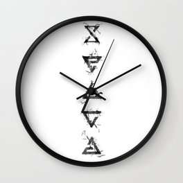 The Witcher Signs - vertical Wall Clock
